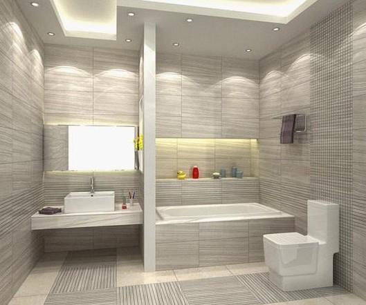 法恩莎瓷砖 浴室装修效果图